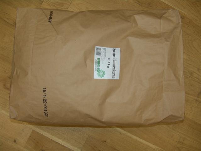 SH983111 Sonnenblumenkerne gestreift (25 kg) Speidelhof